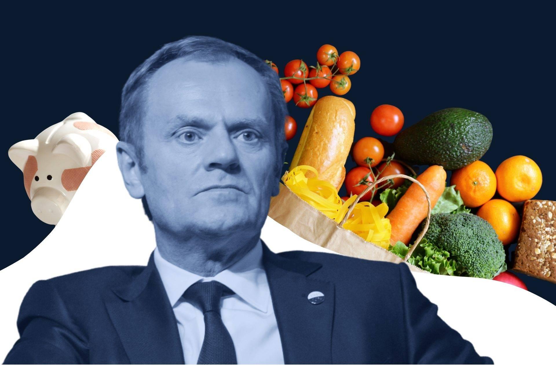 Okłada Tusk i inflacja