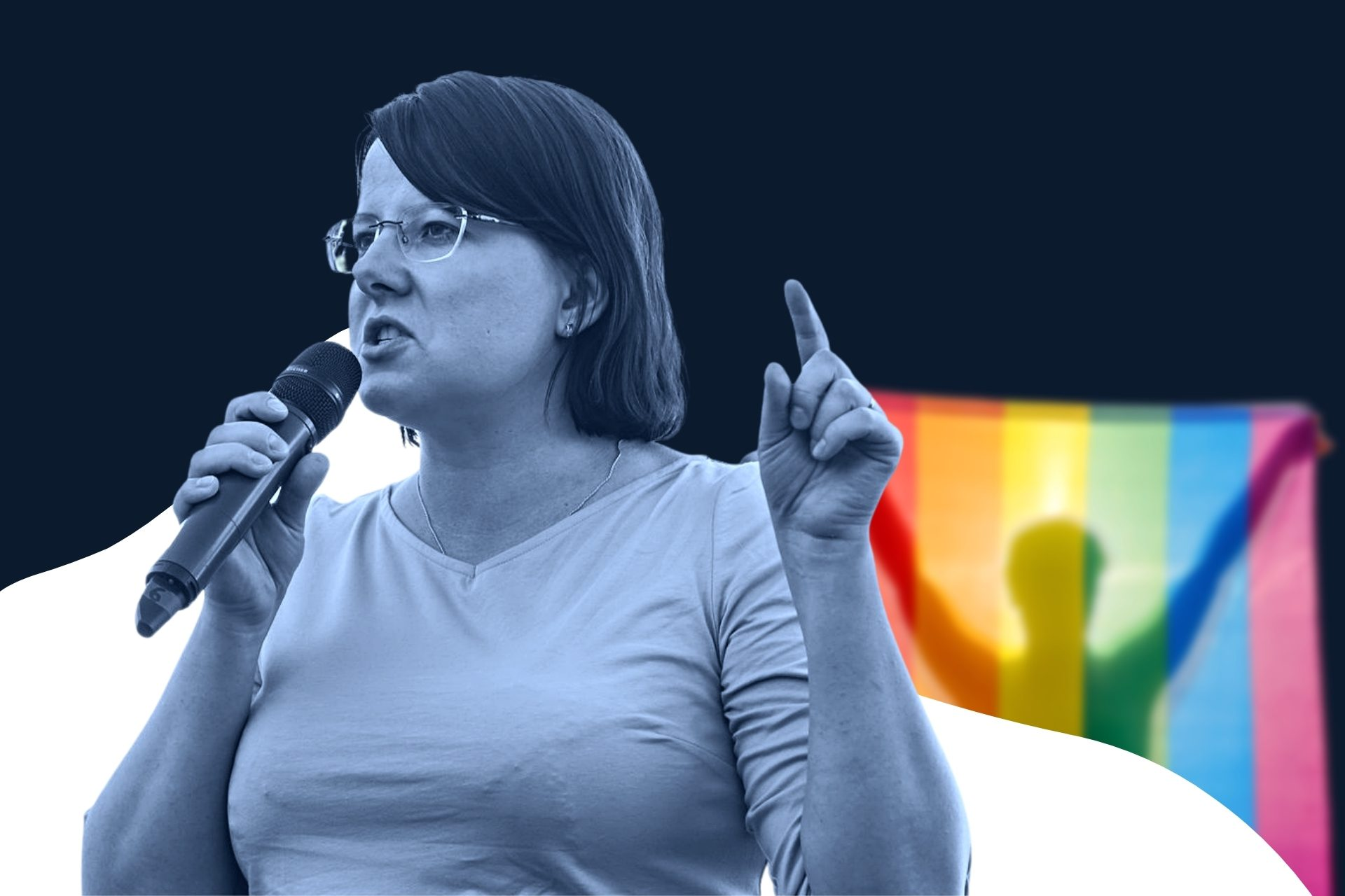 Okładka Kaja Godek a zakaz marszów równości