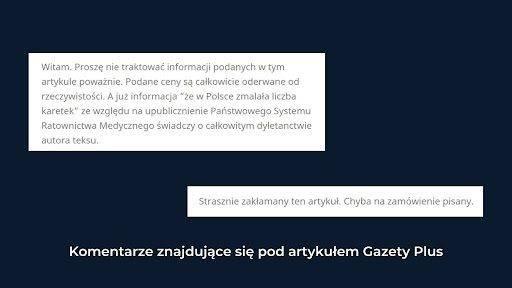 Komentarze z Gazety.pl